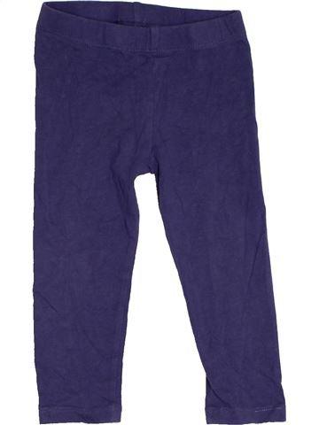 Legging fille PEP&CO bleu 18 mois hiver #1479253_1
