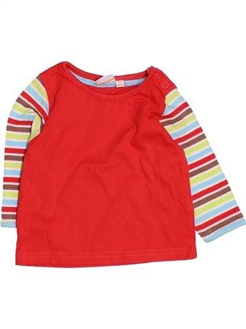 Camiseta de manga larga niño DEBENHAMS rojo 3 meses invierno #1479631_1