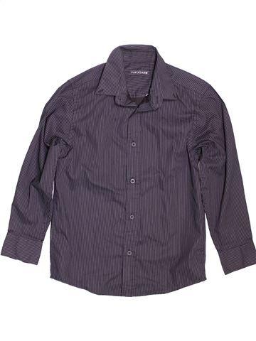 Chemise manches longues garçon FLIPBACK violet 10 ans hiver #1479858_1