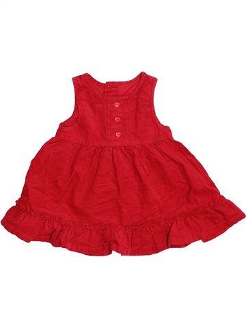 Vestido niña DEBENHAMS rojo 9 meses invierno #1480235_1