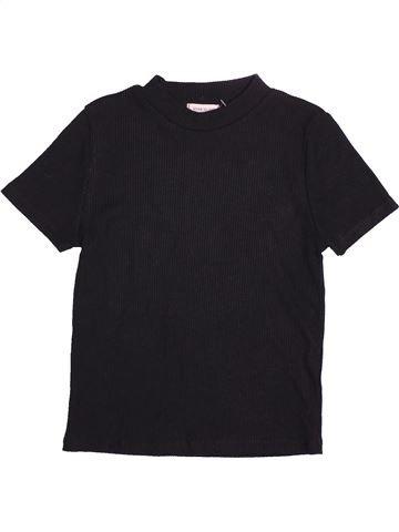 T-shirt manches courtes fille RIVER ISLAND noir 12 ans été #1480433_1