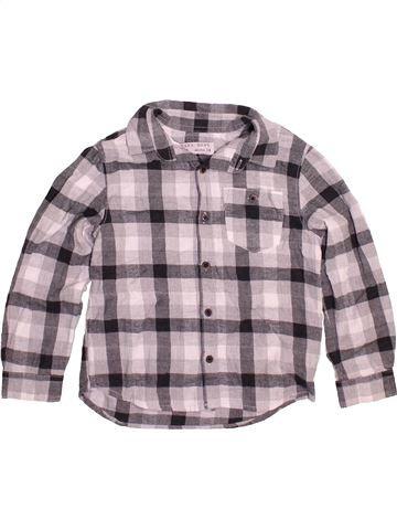 Chemise manches longues garçon ZARA violet 4 ans hiver #1480450_1