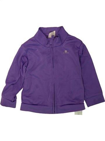 Sportswear unisexe DOMYOS violet 2 ans hiver #1480877_1