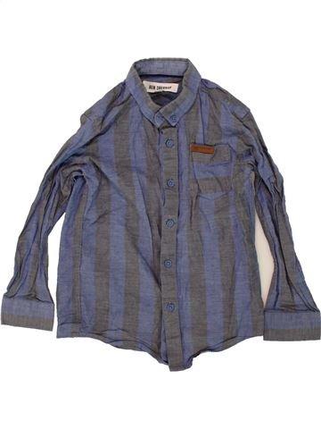 Chemise manches longues garçon BEN SHERMAN bleu 6 ans hiver #1481026_1
