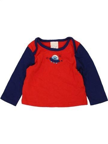 Camiseta de manga larga niño ABSORBA rojo 6 meses invierno #1481294_1