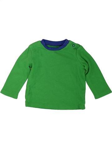 Camiseta de manga larga niño PEP&CO verde 6 meses invierno #1482060_1