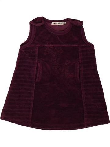 Robe fille NAME IT marron 6 mois hiver #1482685_1