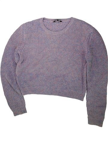 Pull fille CANDY COUTURE violet 16 ans hiver #1483090_1