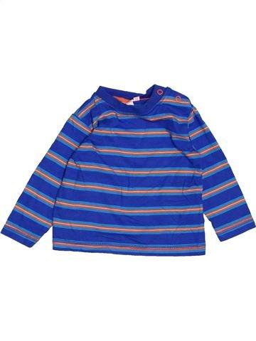 Camiseta de manga larga niño BLUEZOO azul 9 meses invierno #1483163_1