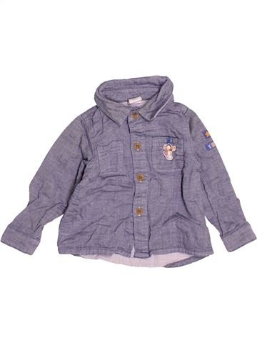 Camisa de manga larga niño BHS violeta 9 meses invierno #1483172_1