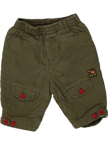 Pantalón niño GRAIN DE BLÉ marrón 3 meses invierno #1483327_1