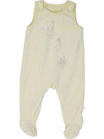Pyjama 1 pièce unisexe MOTHERCARE bleu 6 mois hiver #1483673_1