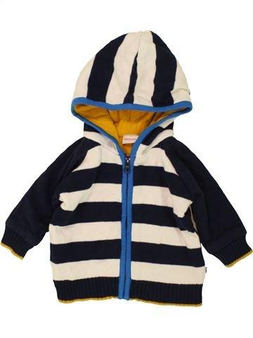 Veste garçon BLUEZOO bleu foncé 6 mois hiver #1483737_1