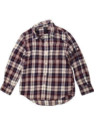 Chemise manches longues garçon GAP gris 7 ans hiver #1484158_1