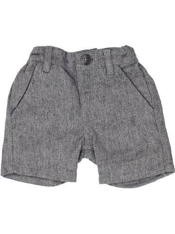 Short - Bermuda garçon MAMAS & PAPAS gris 3 mois été #1484860_1