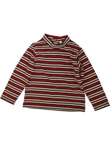 T-shirt col roulé unisexe SANS MARQUE marron 18 mois hiver #1484901_1