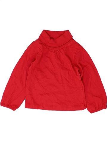 Camiseta de cuello alto niña DUNNES STORES rojo 9 meses invierno #1484953_1