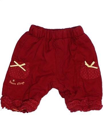 Pantalón niña SUCRE D'ORGE rojo 1 mes invierno #1485107_1