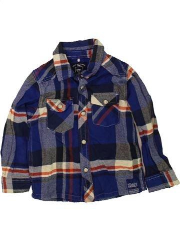 Chemise manches longues garçon NAME IT bleu 2 ans hiver #1485352_1