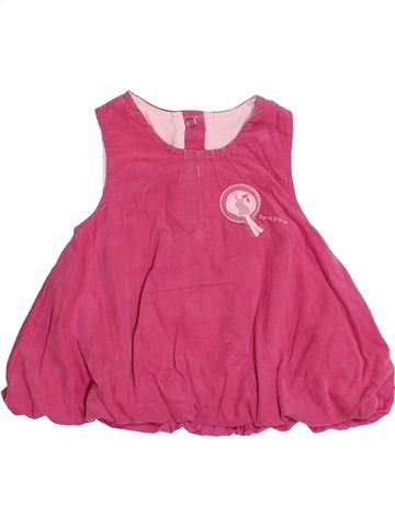 Robe fille SUCRE D'ORGE rose 1 mois hiver #1485465_1