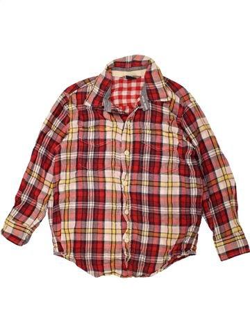 Chemise manches longues garçon GAP marron 7 ans hiver #1485629_1