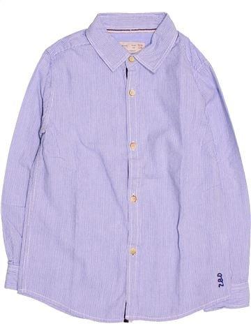Chemise manches longues garçon ZARA gris 6 ans hiver #1485735_1