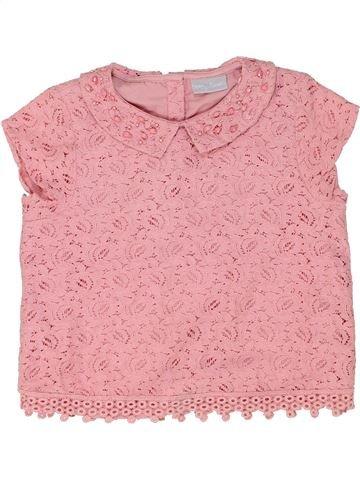 Blusa de manga corta niña I LOVE GIRLSWEAR rosa 9 años verano #1485856_1