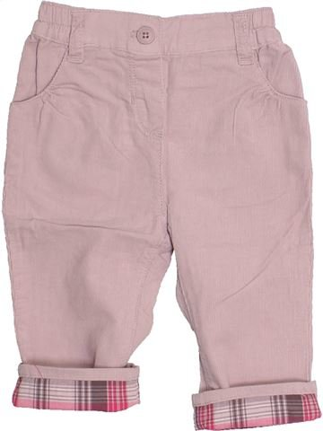 Pantalon fille OKAIDI gris 6 mois hiver #1486102_1