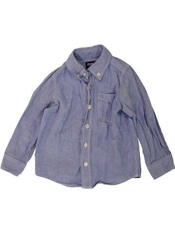 Chemise manches longues garçon OSH KOCH B'GOSH bleu 3 ans hiver #1486116_1