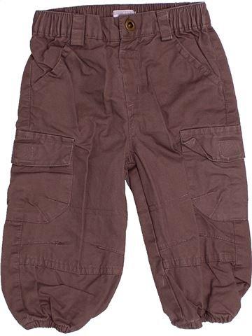Pantalon garçon KIMBALOO marron 12 mois hiver #1486124_1
