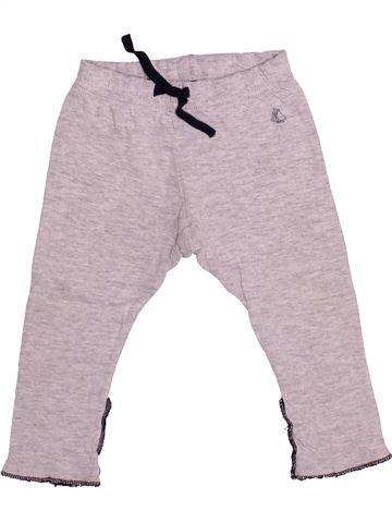 Pantalon garçon PETIT BATEAU gris 12 mois hiver #1486199_1
