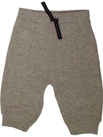 Pantalon garçon BABY marron 6 mois hiver #1486216_1