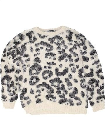 Pull fille KYLIE blanc 12 ans hiver #1486519_1