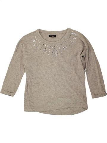 Camiseta de manga larga niña PEP&CO gris 9 años invierno #1486774_1