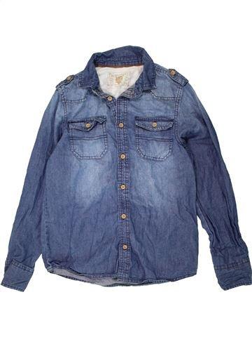Chemise manches longues garçon PRIMARK bleu 13 ans hiver #1486954_1