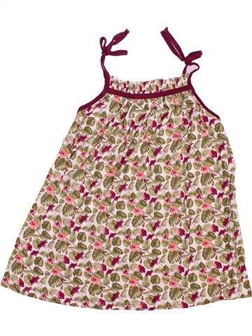 Camiseta sin mangas niña GEMO rosa 6 años verano #1487076_1