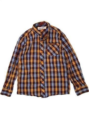 Chemise manches longues garçon BEN SHERMAN violet 7 ans hiver #1487181_1