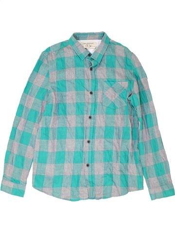 Camisa de manga larga niño ZARA azul 14 años invierno #1487619_1