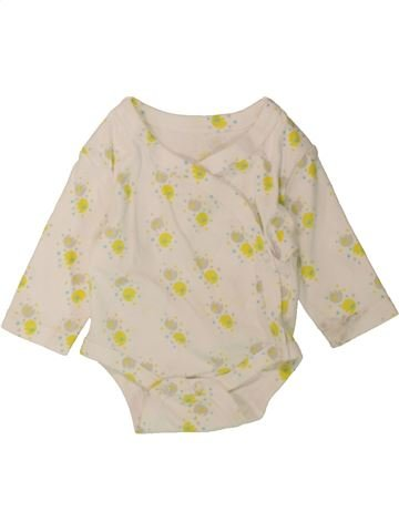 T-shirt manches longues unisexe SANS MARQUE blanc naissance hiver #1487824_1