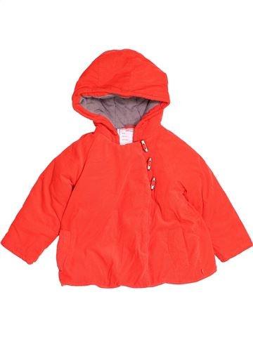 Manteau fille OBAIBI rouge 3 ans hiver #1487828_1
