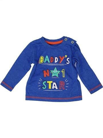 Camiseta de manga larga niño DUNNES STORES azul 6 meses invierno #1487874_1