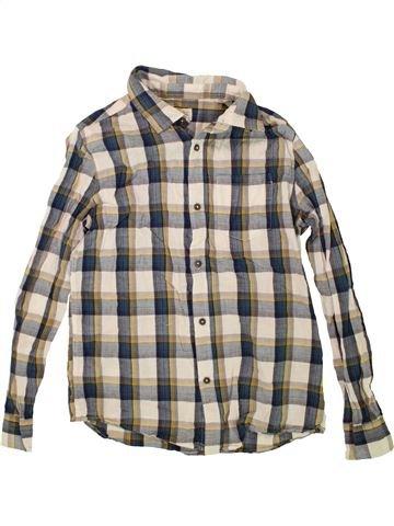 Chemise manches longues garçon ZARA gris 12 ans hiver #1487993_1