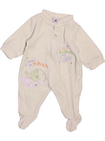 Pijama de 1 pieza niño ABSORBA violeta 1 mes invierno #1488037_1