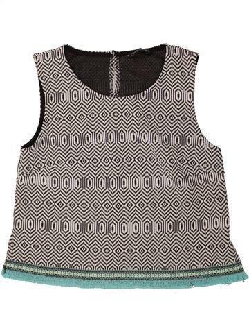 T-shirt sans manches fille CANDY COUTURE gris 13 ans été #1488040_1