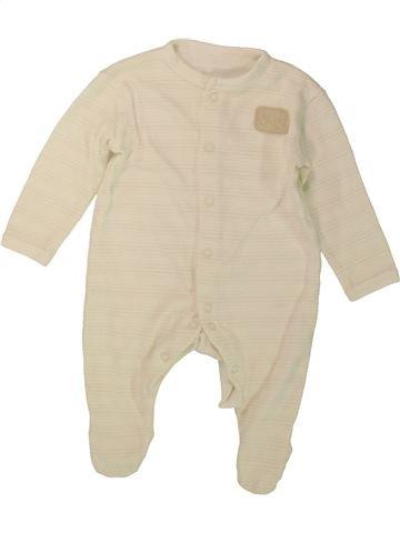 Pijama de 1 pieza niño DUNNES STORES beige 3 meses verano #1488197_1