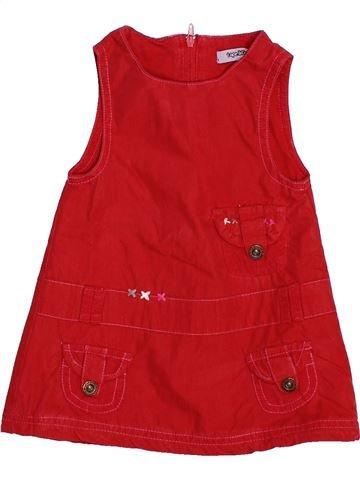 Robe fille TAPE À L'OEIL rouge 3 mois hiver #1488286_1