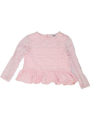 Blouse manches longues fille TAMMY rose 8 ans hiver #1488332_1