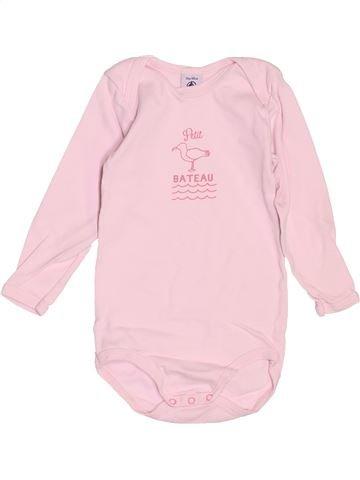 T-shirt manches longues fille PETIT BATEAU rose 3 ans hiver #1488631_1