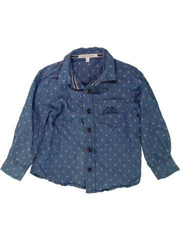 Camisa de manga larga niño JASPER CONRAN azul 3 años invierno #1488751_1