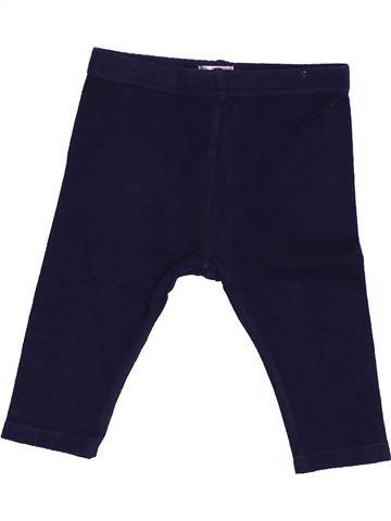 Legging fille BRIOCHE bleu foncé 9 mois hiver #1488928_1